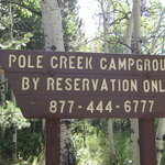 Pole creek group campground