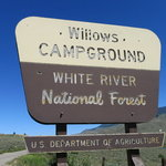 Willows campground white river nf