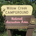 Willow creek campground anra