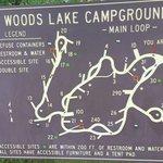 Woods lake campground
