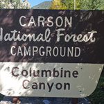 Columbine campground carson nf