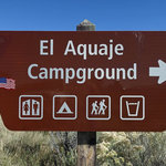 El aguaje campground