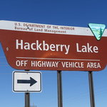 Hackberry lake ohv area