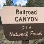 Railroad canyon campground