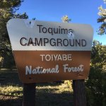 Toquima caves campground