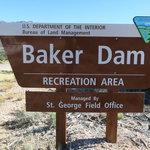 Baker dam recreation area