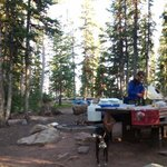 Butterfly lake campground