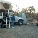 Cathedral valley campground