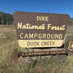Duck creek campground dixie nf