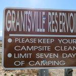 Grantsville reservoir