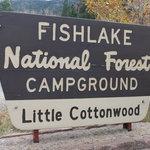 Little cottonwood campground