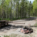 Lodgepole campground ashley nf