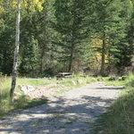 Loop campground