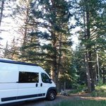 Oak creek campground fishlake nf