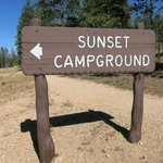 Sunset campground bryce canyon national park
