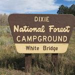 White bridge campground
