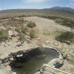 Hilltop hot springs