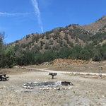 Gravel flat campground