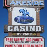 Lakeside casino rv park