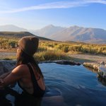 The rock tub hot springs