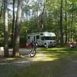 Sandy beach rv camping resort