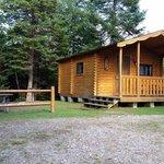 Mountain lake campground