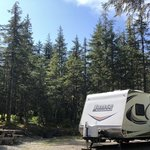 Mendenhall lake campground
