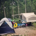 Oak leaf family campground