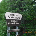 Tenderfoot creek campground