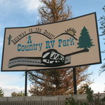 A country rv park
