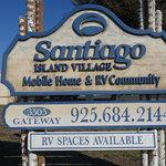Santiago island village