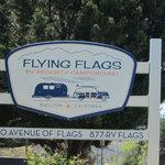 Flying flags rv resort