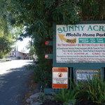 Sunny acres mobile home rv park