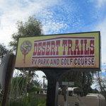 Desert trails rv park california