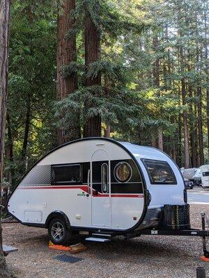 Santa cruz redwoods rv resort