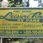 Leisure time rv park fort bragg ca
