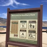 Auxiliary dam campground