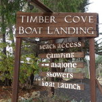 Timber cove boat landing campground