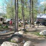Kern river sequoia rv resort camp james