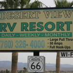 Desert view rv resort