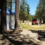 Big pine flat campground