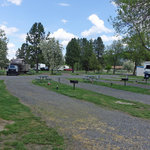 Water wheel campground