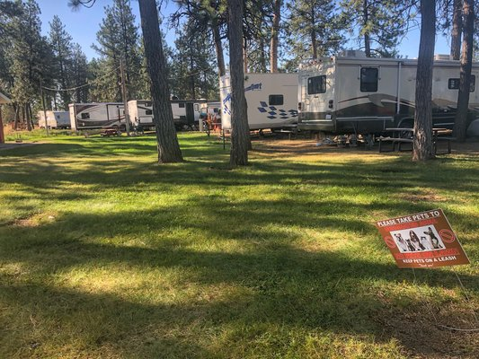 Peaceful pines rv park campground