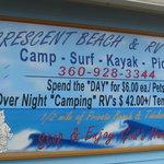 Crescent beach rv park