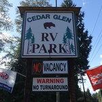 Cedar glen rv park