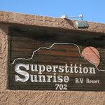 Superstition sunrise rv resort