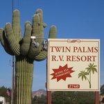 Twin palms rv park western