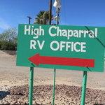 High chaparral rv park