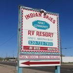 Indian skies rv resort