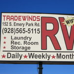 Tradewinds rv park arizona